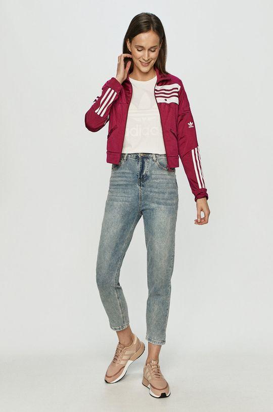 adidas Originals - Bluza x Daniëlle Cathari purpurowy