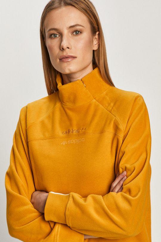 żółty adidas Originals - Bluza