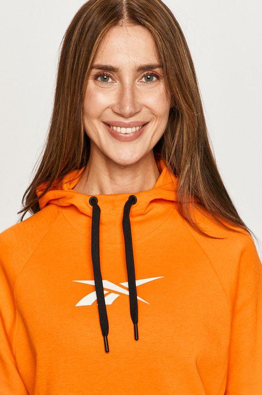 portocaliu Reebok - Bluza