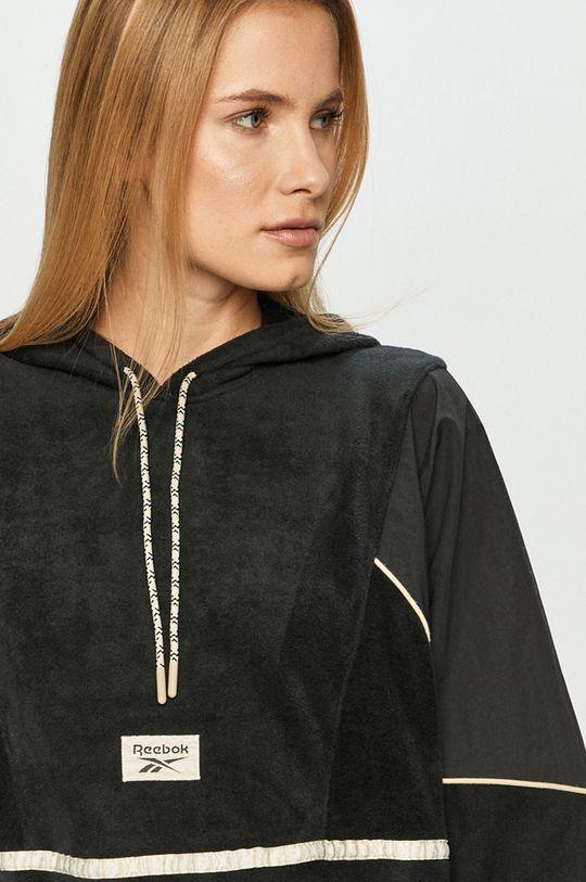czarny Reebok Classic - Bluza