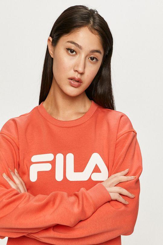 fiołkowo różowy Fila - Bluza