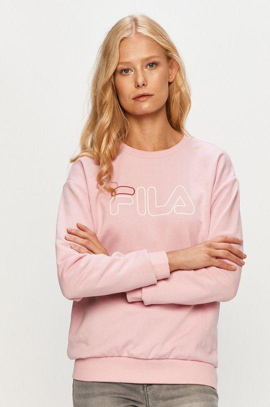 różowy Fila - Bluza Damski