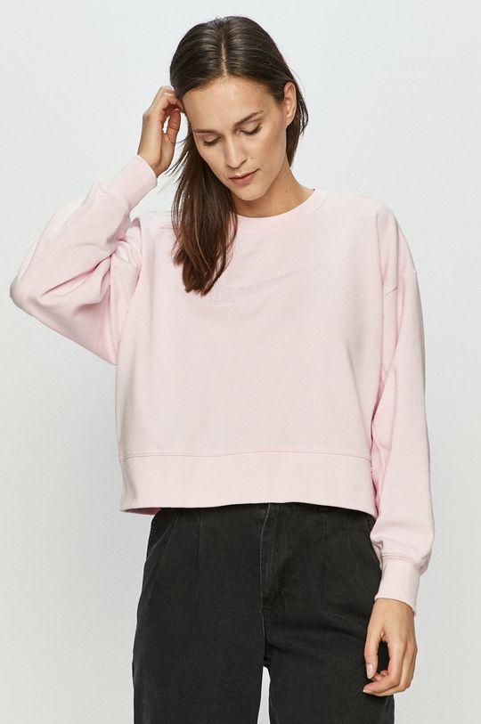różowy Nike - Bluza Damski