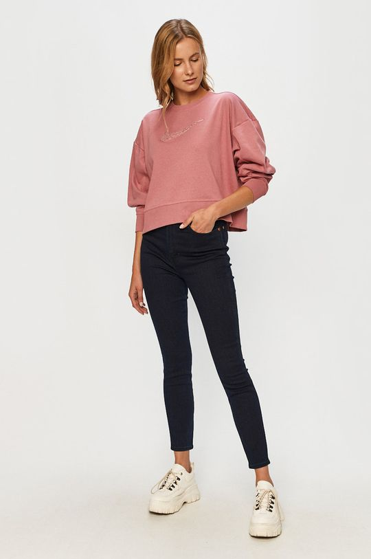 Nike - Bluza brudny róż