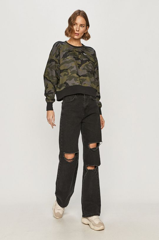 Nike - Bluza militarny