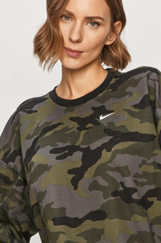 militarny Nike - Bluza