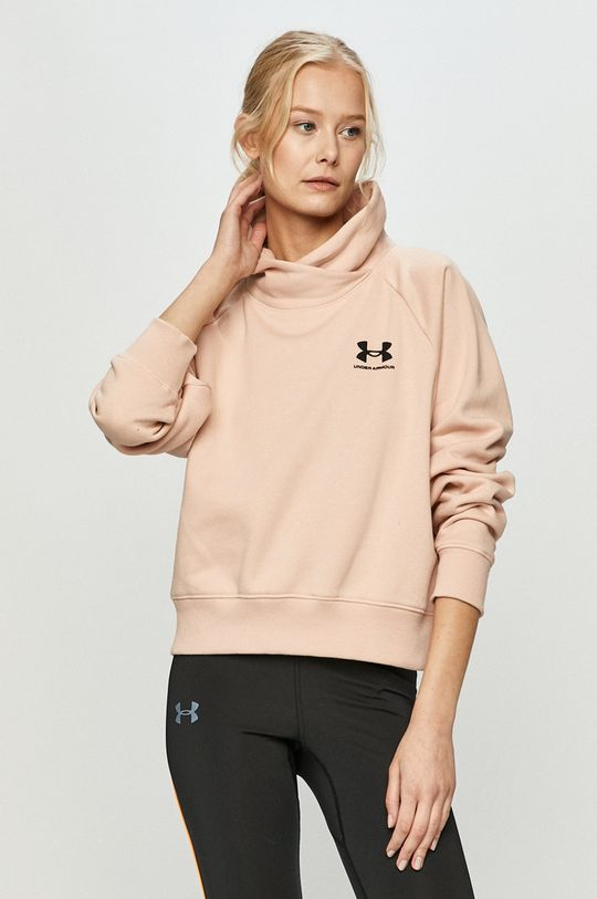 pastelowy różowy Under Armour - Bluza Damski