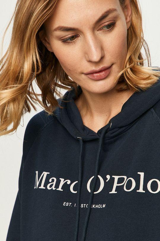 tmavomodrá Marc O'Polo - Bavlnená blúzka