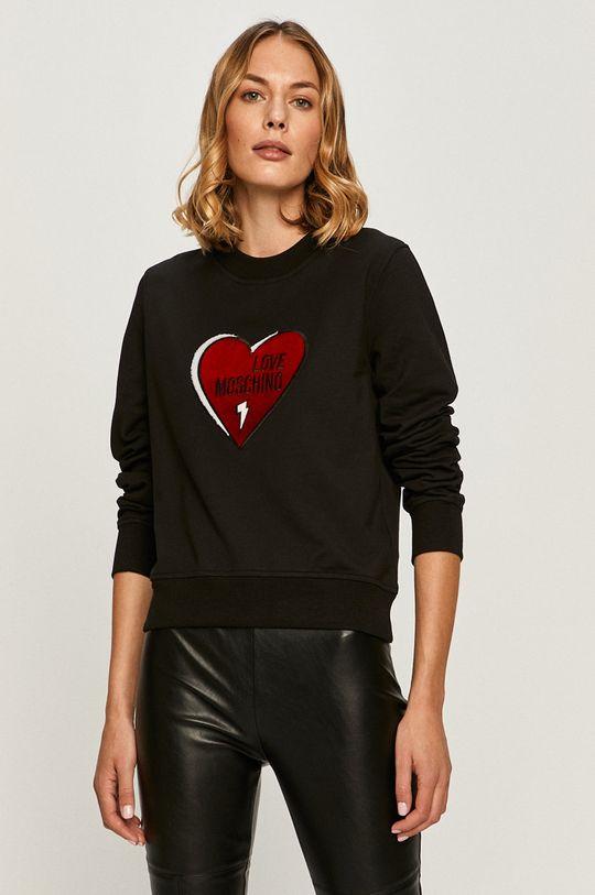 negru Love Moschino - Bluza De femei