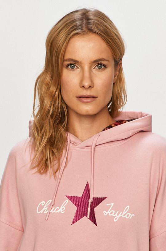 růžová Converse - Mikina