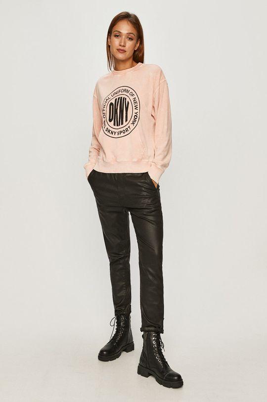 Dkny - Bluza różowy
