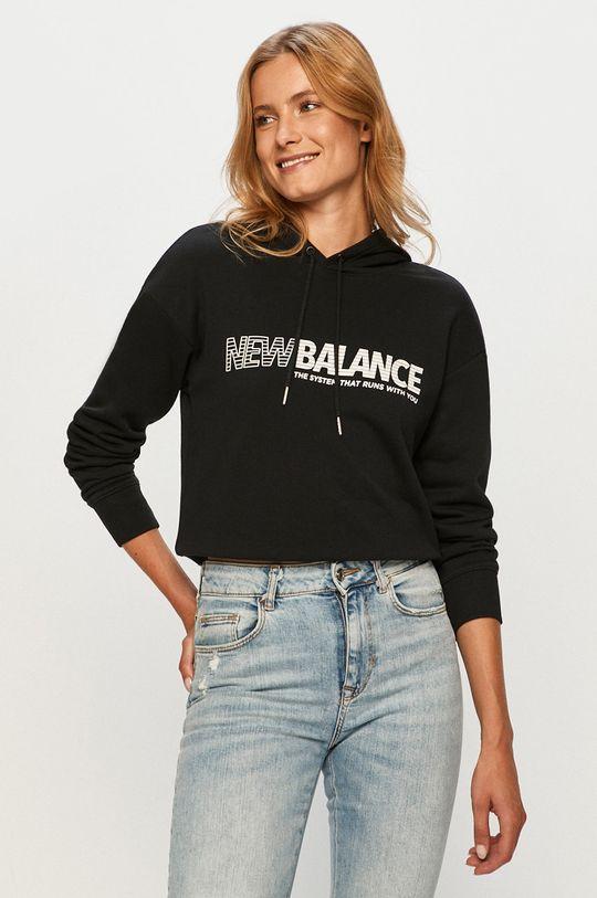 czarny New Balance - Bluza Damski