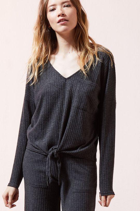 sivá Etam - Tričko s dlhým rukávom Damon Dámsky