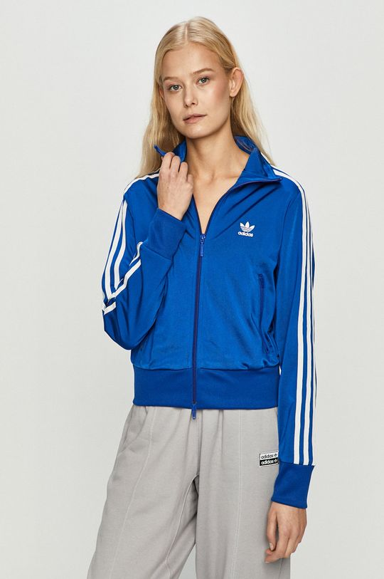 modrá adidas Originals - Mikina Dámský