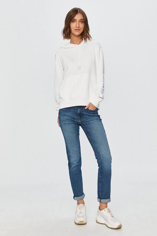 Calvin Klein Jeans - Bluza alb