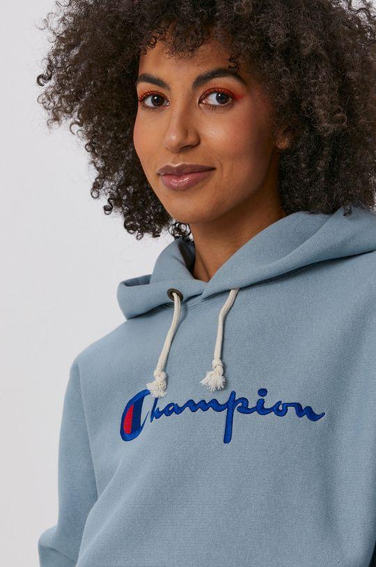 stalowy niebieski Champion - Bluza