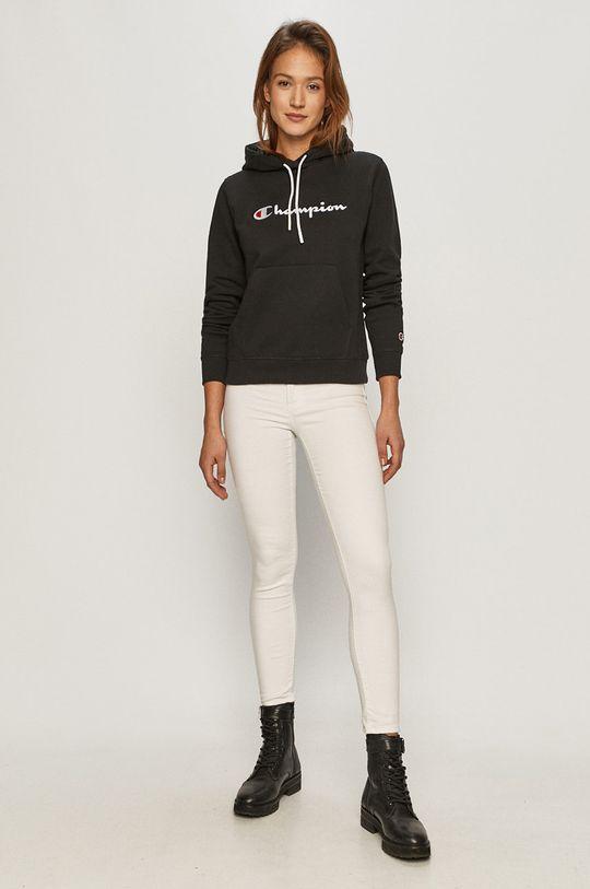 Champion - Bluza bawełniana czarny