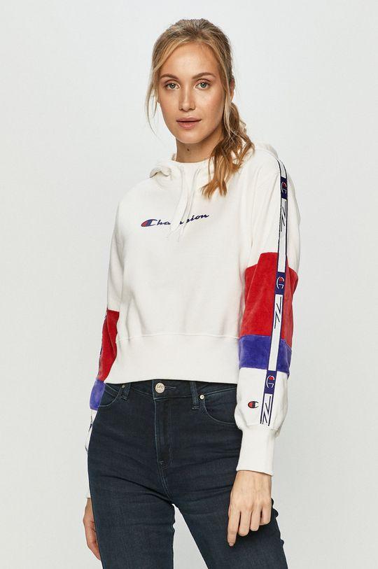 biały Champion - Bluza bawełniana Damski