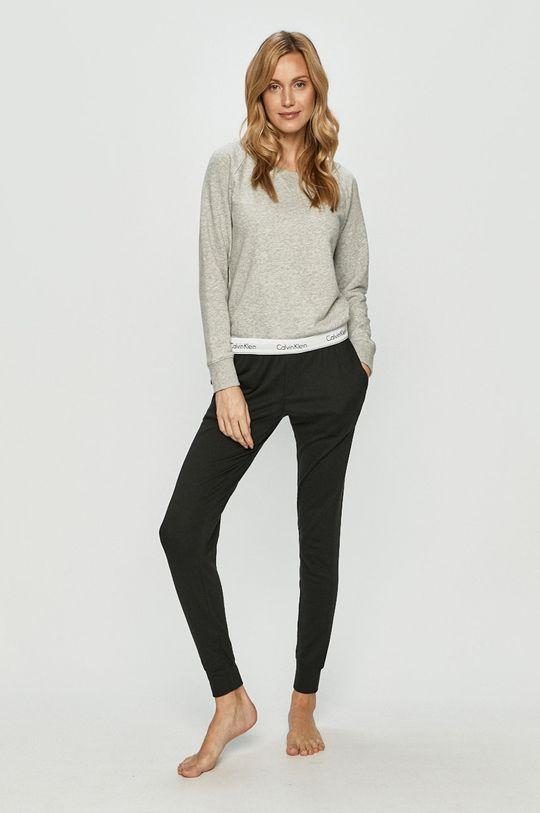 Calvin Klein Underwear - Bluza gri deschis