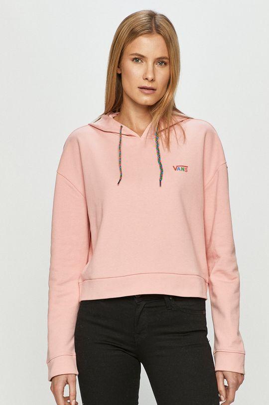 różowy Vans - Bluza
