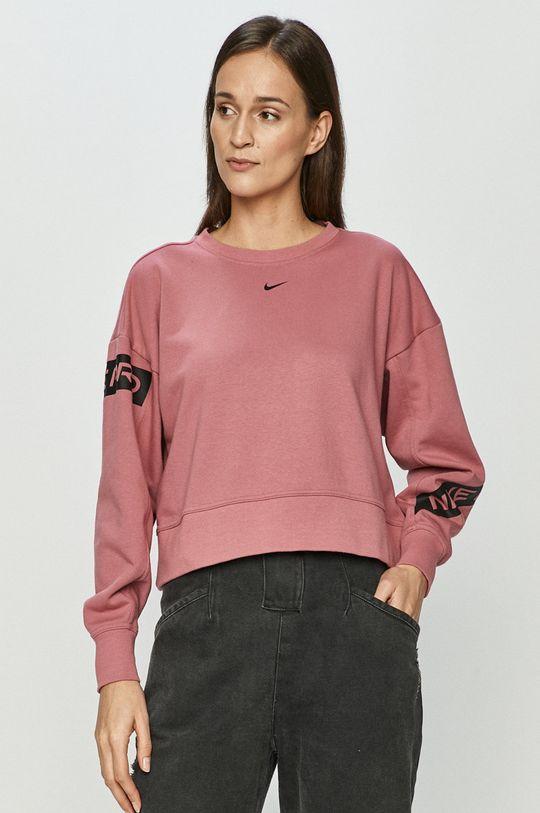 sýto ružová Nike - Mikina Dámsky