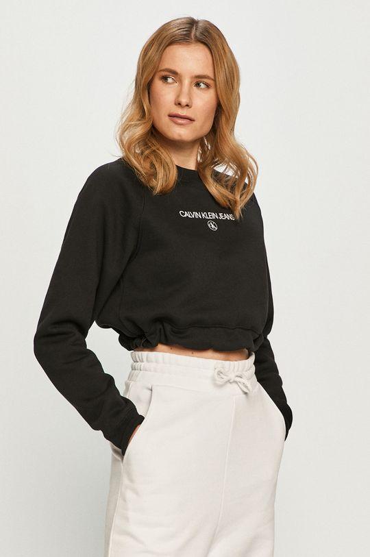 czarny Calvin Klein Jeans - Bluza