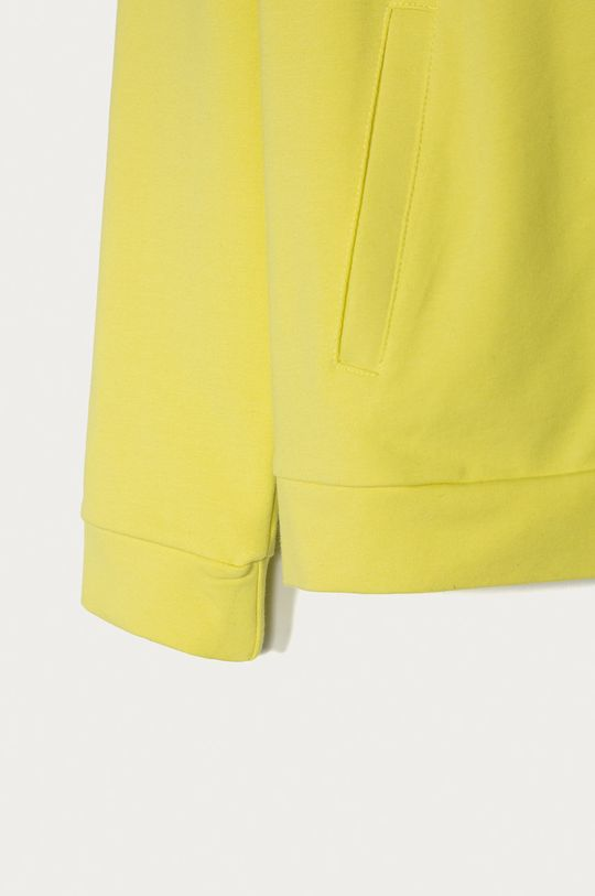 Guess Jeans - Bluza copii 116-175 cm  Materialul de baza: 94% Bumbac, 6% Elastan Captuseala glugii: 95% Bumbac, 5% Elastan
