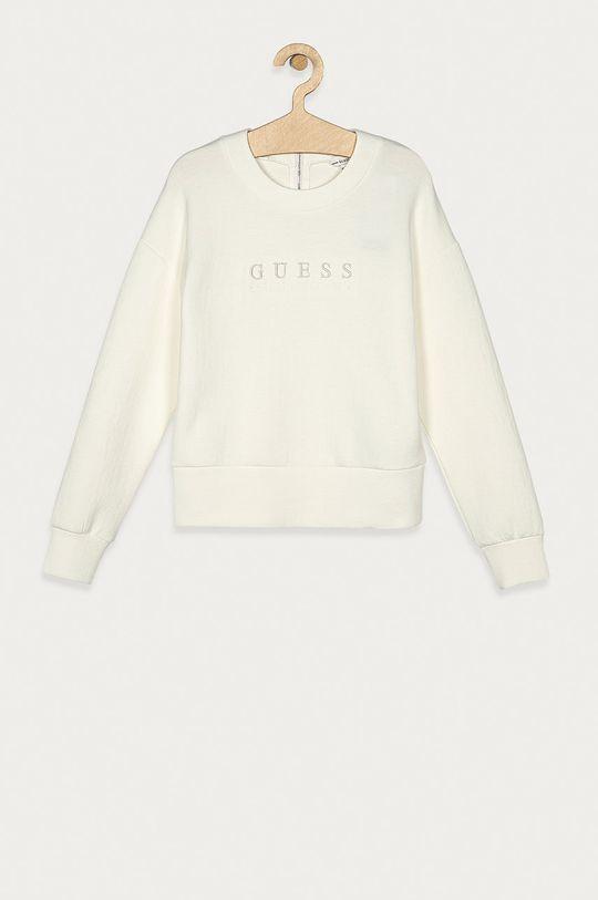 alb Guess Jeans - Bluza copii 140-175 cm De fete