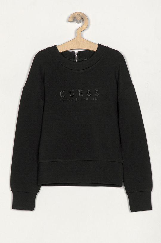 černá Guess Jeans - Dětská mikina 140-175 cm Dívčí