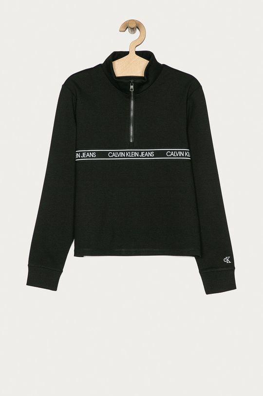 černá Calvin Klein Jeans - Dětská mikina 140-176 cm Dívčí