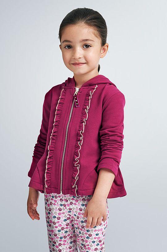 czerwony Mayoral - Bluza dziecięca 92-134 cm Dziewczęcy