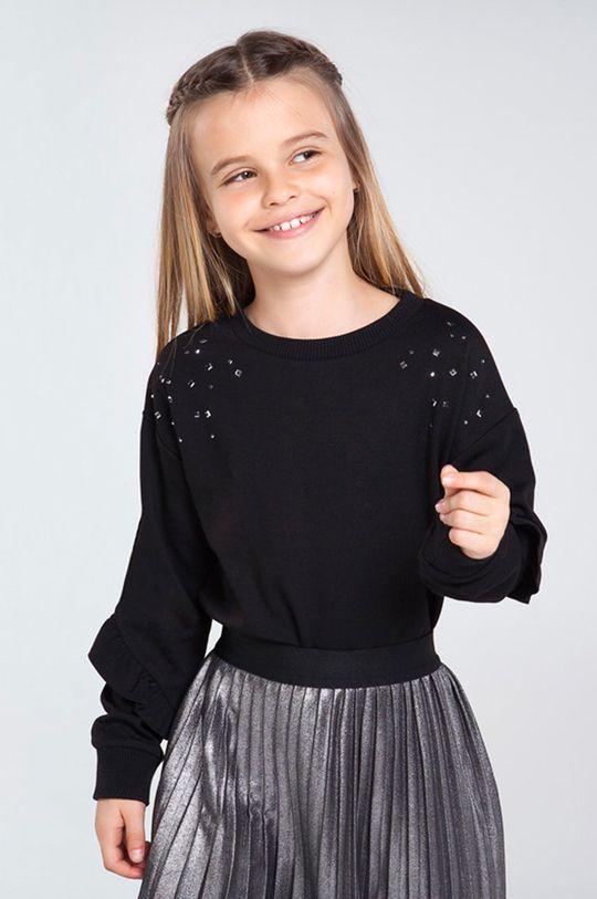 czarny Mayoral - Bluza dziecięca 128-167 cm Dziewczęcy