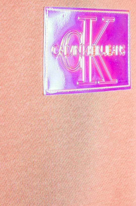 Calvin Klein Jeans - Bluza dziecięca 128-176 cm różowy