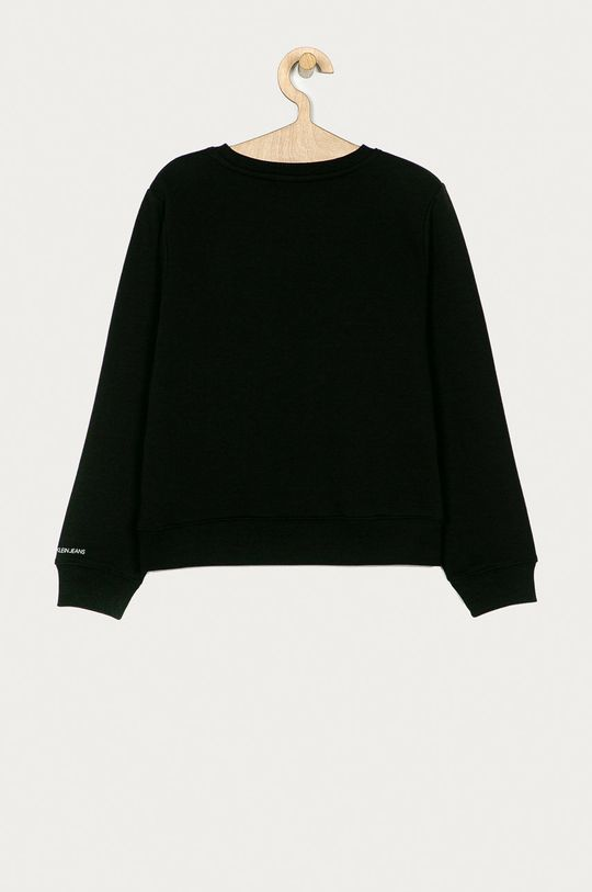 Calvin Klein Jeans - Dětská mikina 140-176 cm černá