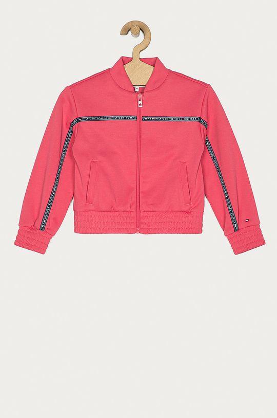 różowy Tommy Hilfiger - Bluza dziecięca 104-176 cm Dziewczęcy