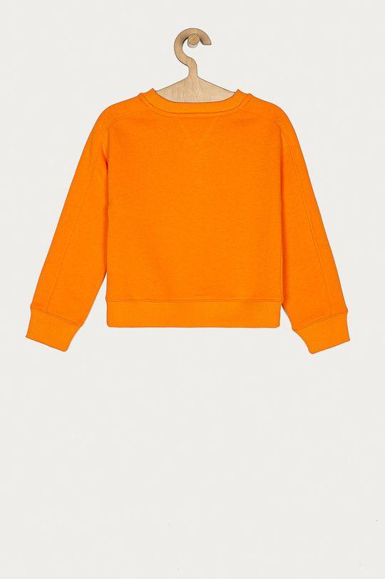 Tommy Hilfiger - Bluza dziecięca 110-176 cm pomarańczowy