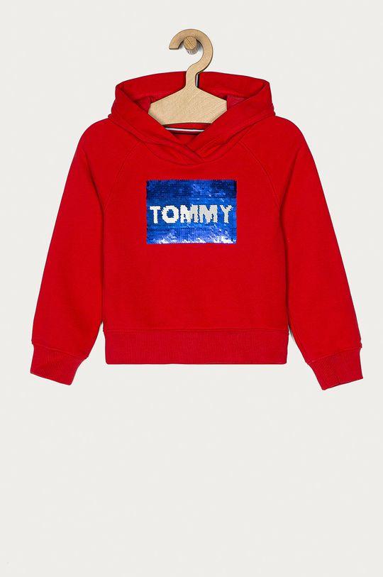 červená Tommy Hilfiger - Dětská mikina 110-176 cm Dívčí