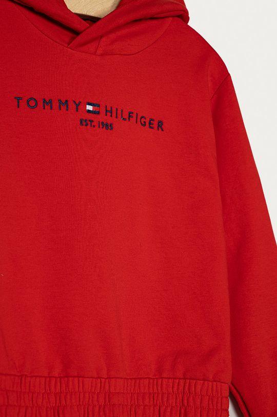 Tommy Hilfiger - Bluza 116-176 cm  Materialul de baza: 71% Bumbac, 7% Elastan, 22% Poliester  Captuseala glugii: 100% Bumbac