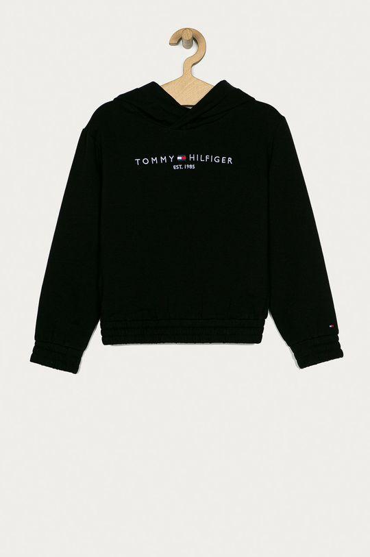 černá Tommy Hilfiger - Mikina 116-176 cm Dívčí