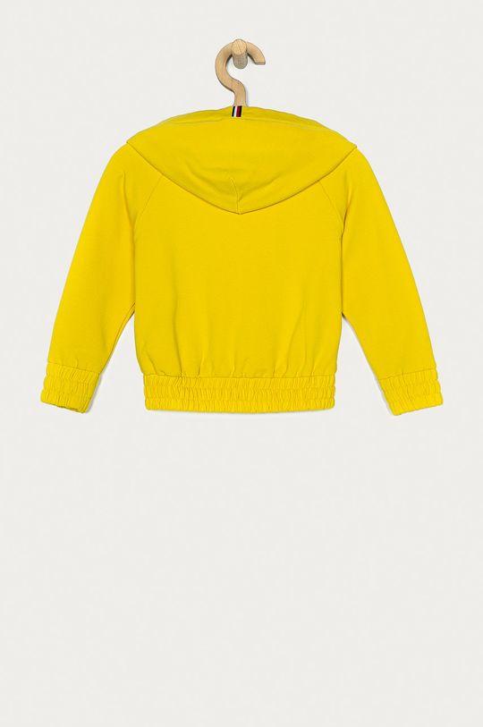 Tommy Hilfiger - Bluza dziecięca żółty