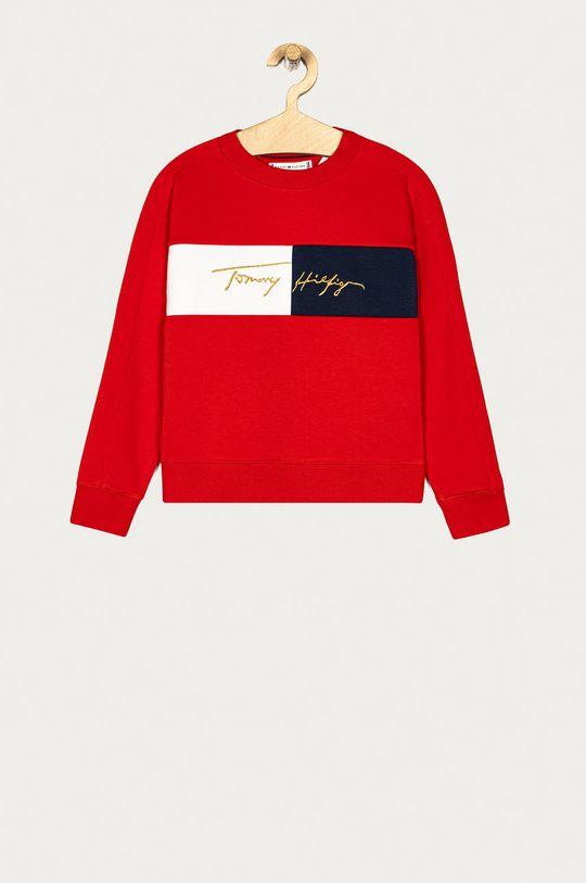 červená Tommy Hilfiger - Dětská mikina 128-176 cm Dívčí