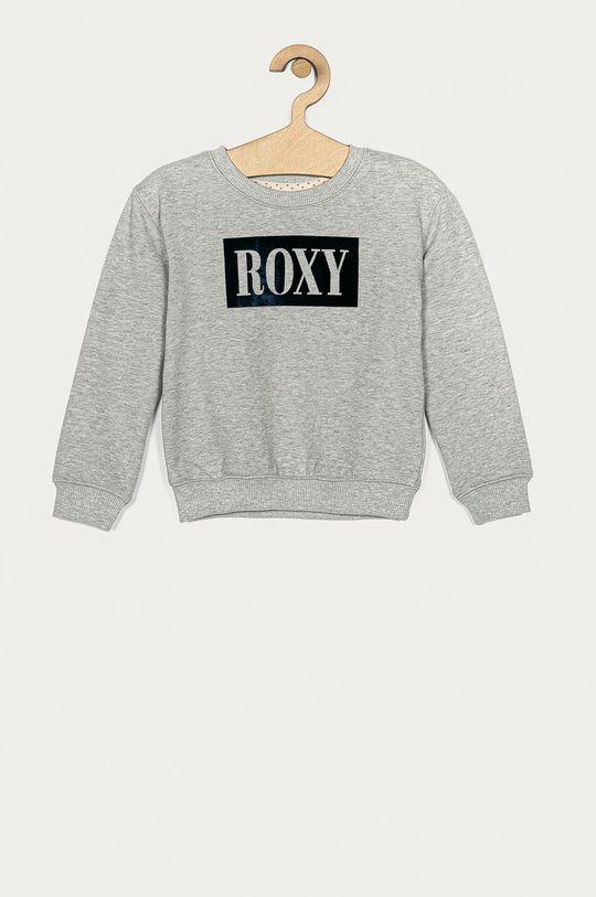 šedá Roxy - Dětská mikina 104-176 cm Dívčí