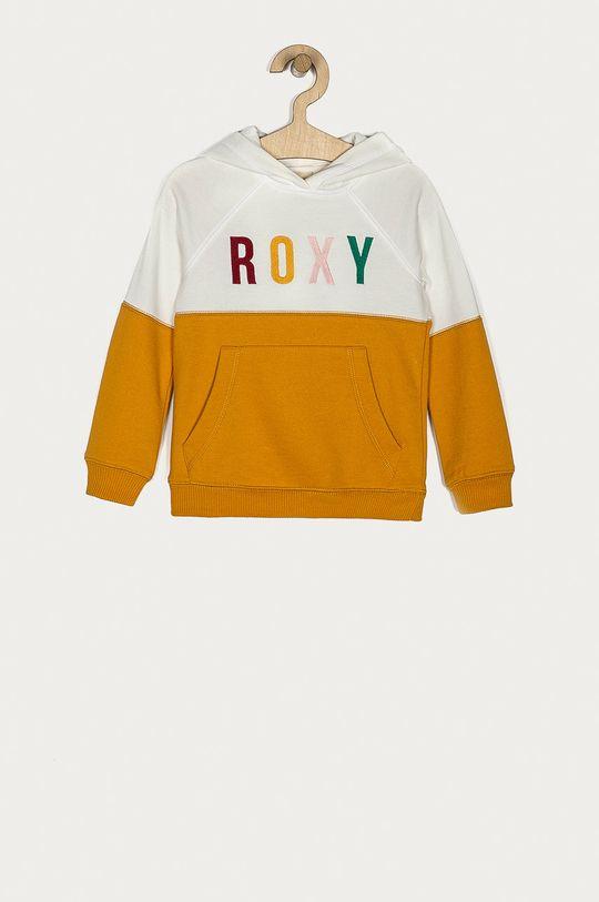 bursztynowy Roxy - Bluza dziecięca 104-176 cm Dziewczęcy