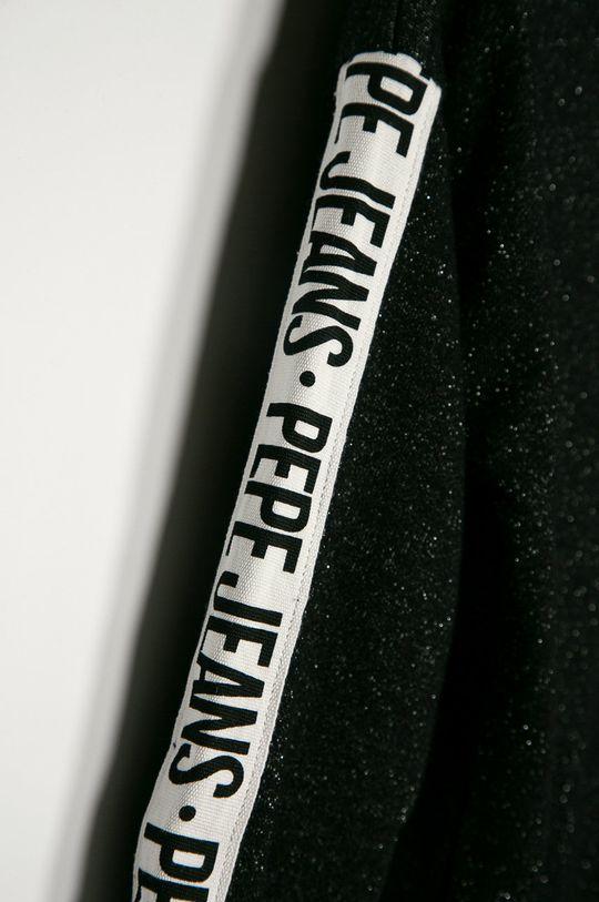 Pepe Jeans - Gyerek felső Monica 128-180 cm  Jelentős anyag: 82% pamut, 18% fémszál Más anyag: 80% pamut, 5% elasztán, 15% fémszál