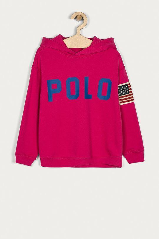 růžová Polo Ralph Lauren - Dětská mikina 128-176 cm Dívčí