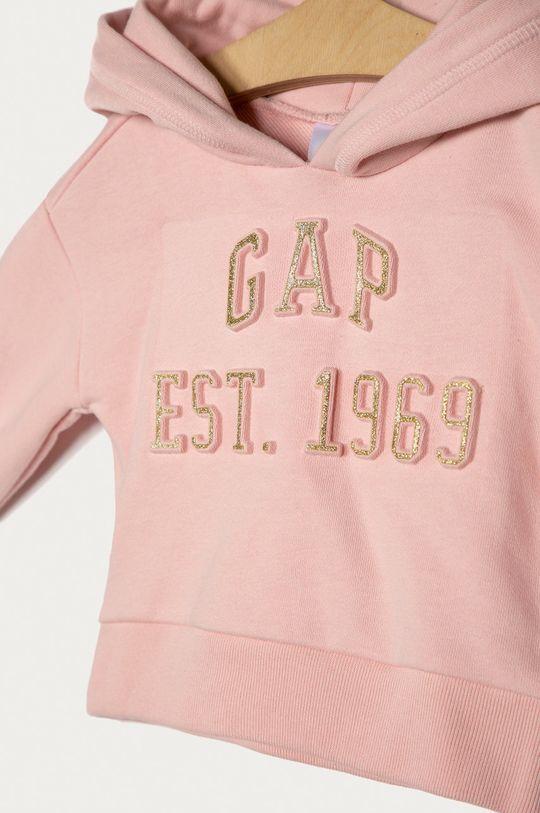 GAP - Detská mikina 74-104 cm ružová