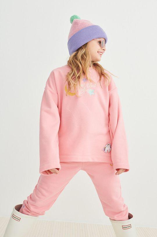 różowy Femi Stories - Bluza dziecięca Liwo 116-140 cm Dziewczęcy