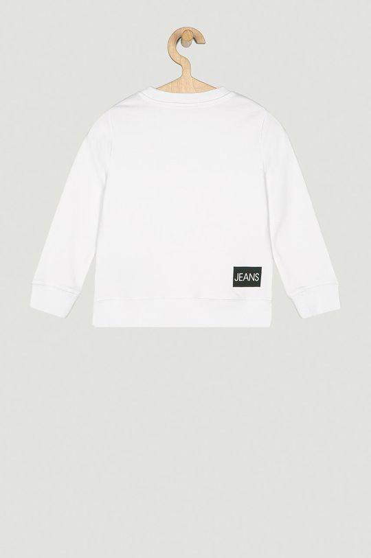 Calvin Klein Jeans - Dětská bavlněná mikina 104-176 cm  100% Bavlna Hlavní materiál: 45% Bavlna, 55% Polyester Stahovák: 47% Bavlna, 6% Elastan, 47% Polyester