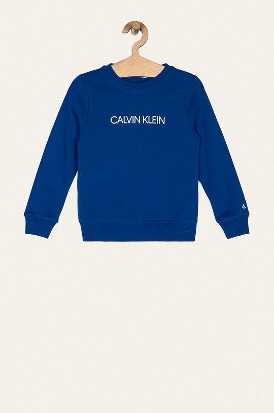 niebieski Calvin Klein Jeans - Bluza dziecięca 104-176 cm Dziecięcy