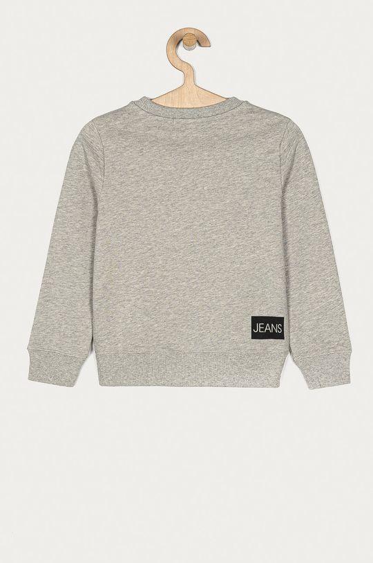 Calvin Klein Jeans - Dětská bavlněná mikina 104-176 cm šedá